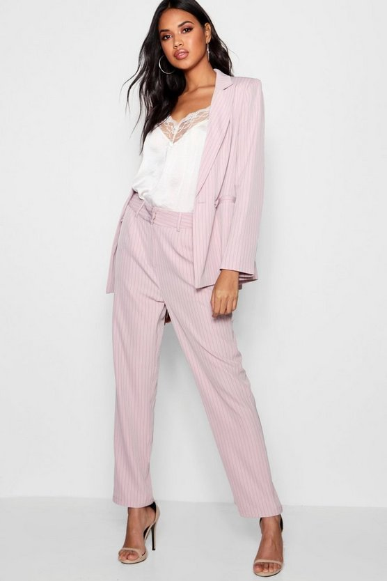 Stripe Tailored Suit Trouser