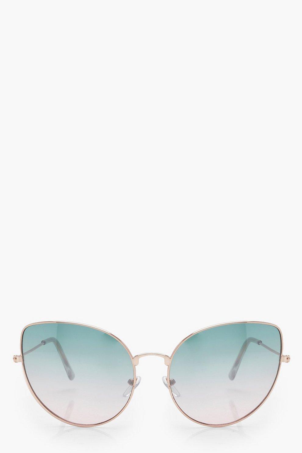 Lily Sonnenbrille mit Katzenaugenfassung und getrübten Gläsern tSt8Y