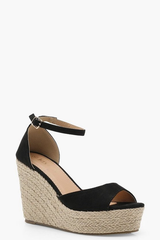 Espadrille 2 Part Wedges
