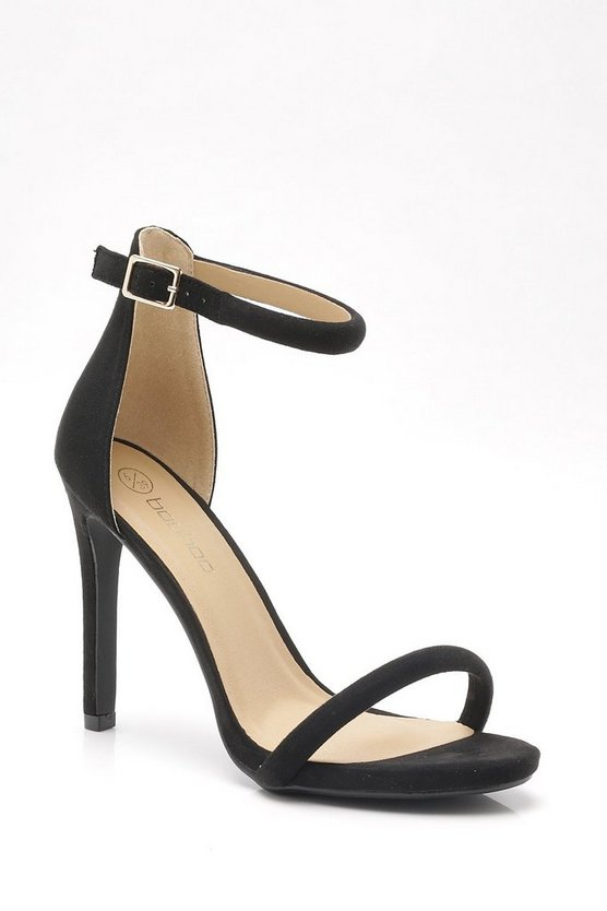 Suedette 2 Part Heels