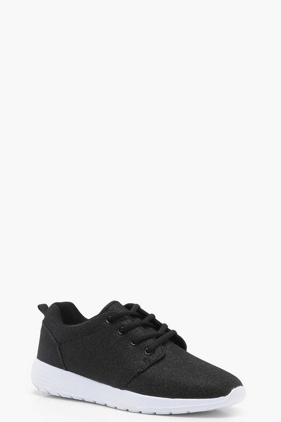 Emily Shimmer Speckled Trainers