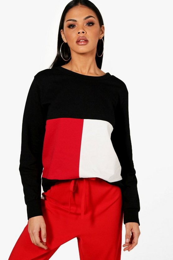 Savannah Colour Block Sweatshirt