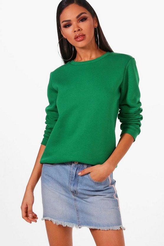 Emila Boxy Crew Neck Sweat