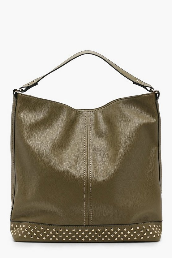Rosie Studded Base Hobo Day Bag