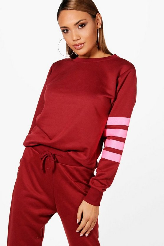 Lisa Athleisure Running Sweat Top