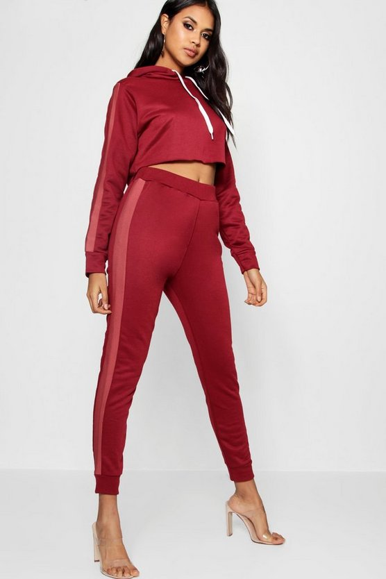 Cleo Athleisure Side Stripe Tracksuit