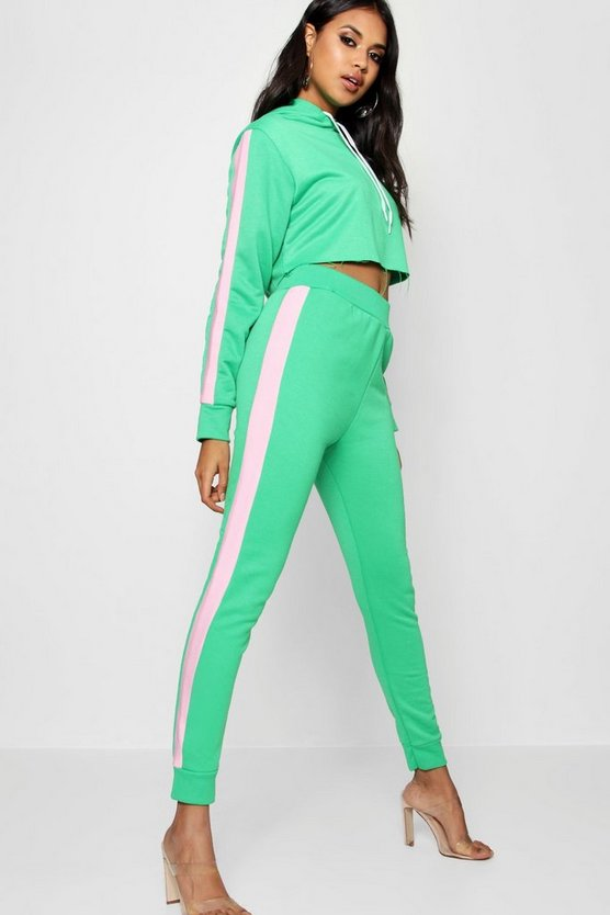 Athleisure Side Stripe Tracksuit