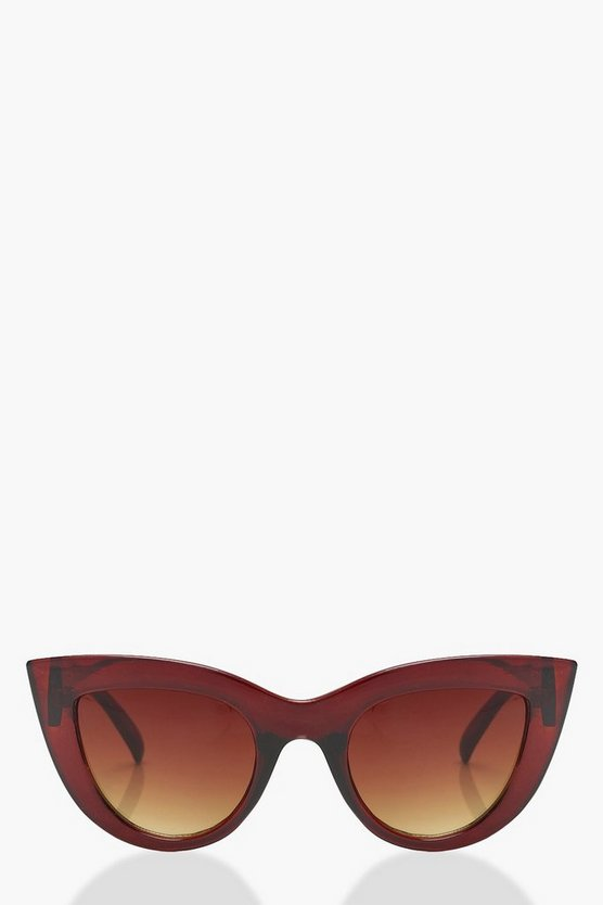 Millie Oversized Cat Eye Sunglasses