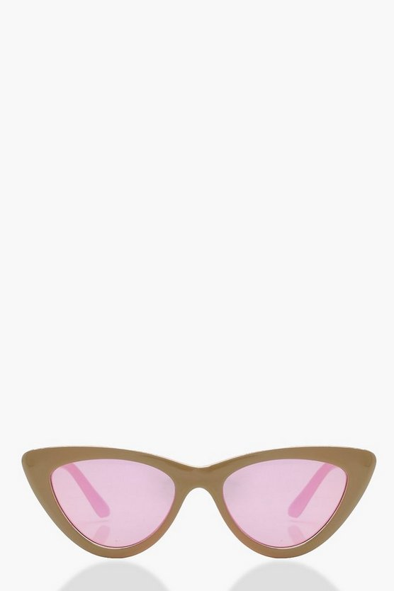 Lola Slim Extreme Cat Eye Sunglasses