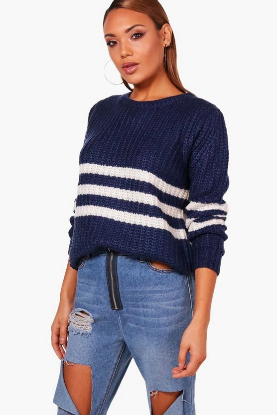 Soft Knit Stripe Jumper