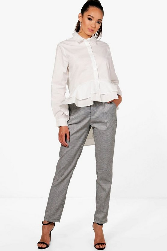 Isobel Check Premium Trouser