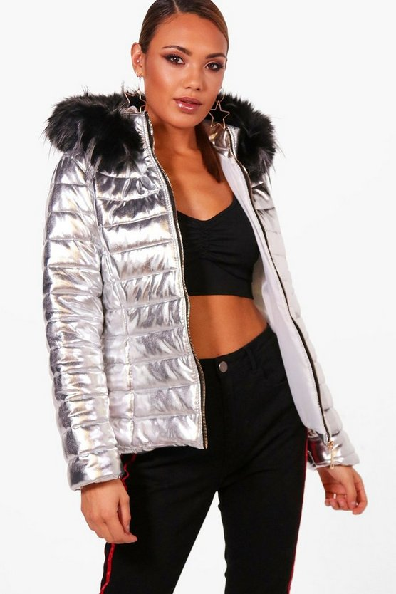 Sophie Metallic Padded Jacket
