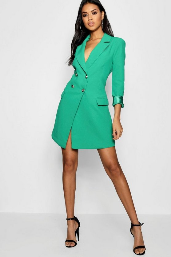 Ashley Double Breasted Tailored Blazer Dress