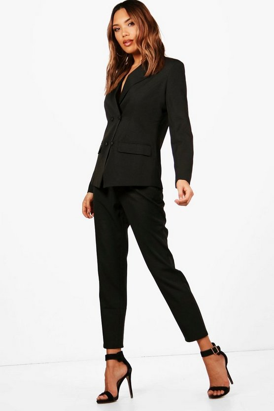 Erin Straight Leg Woven Suit Trouser