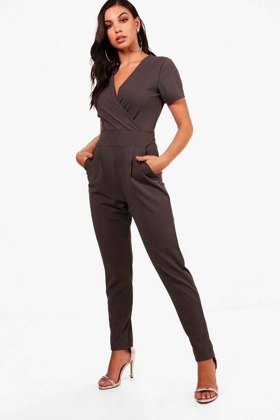 Charlotte Wrap Detail Jumpsuit