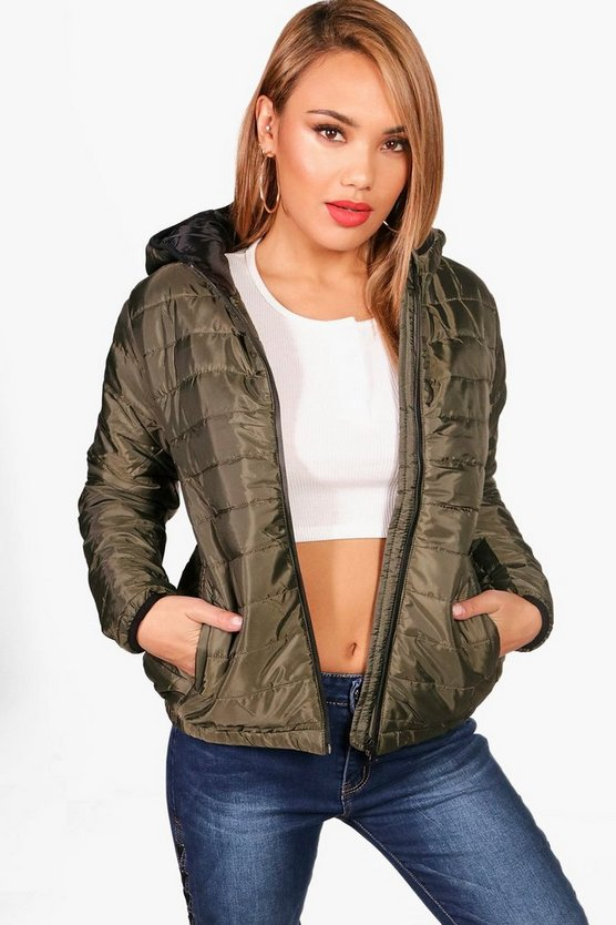 Emily Hooded Padded Jacket