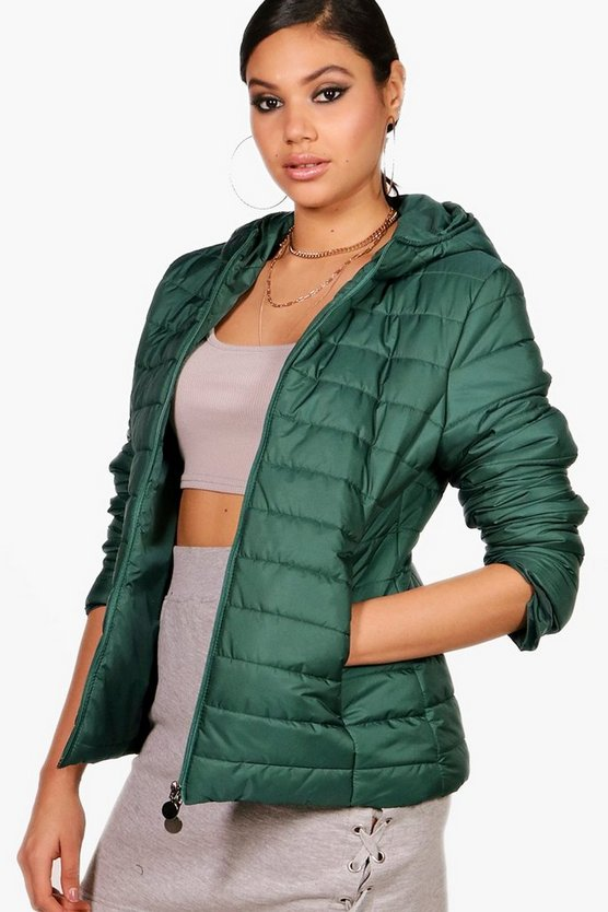 Arabella Hooded Padded Jacket