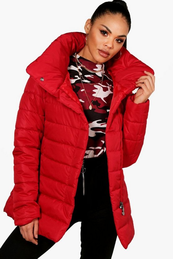 Rachael Funnel Neck Padded Jacket
