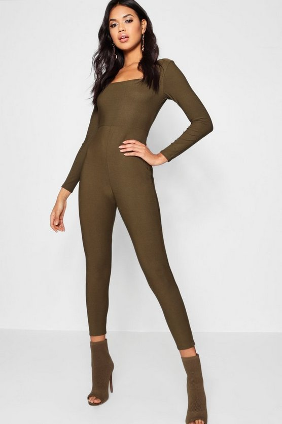 Louisa Square Neck Unitard
