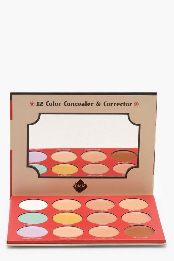 Conceal and Correct Cream Palette 12 Shades