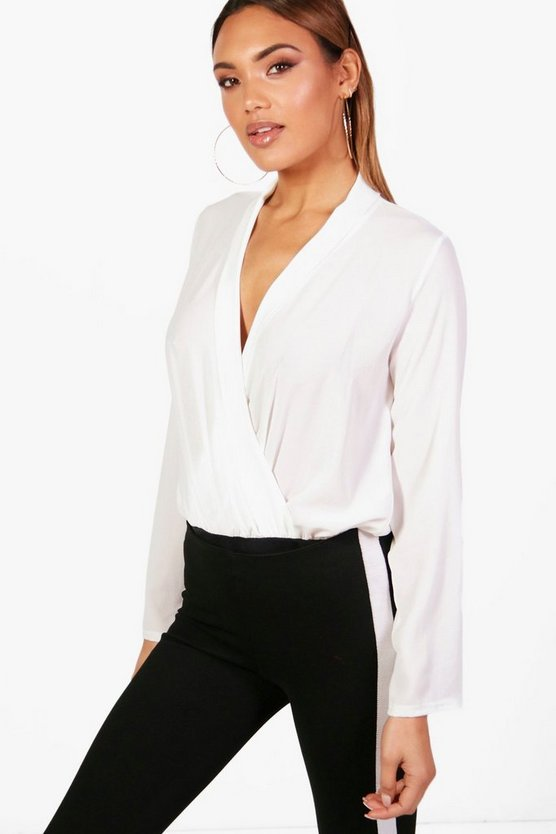 Demi Wrap Bodysuit