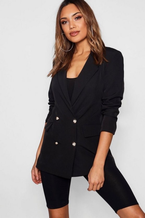 Emily Pocket Military Blazer