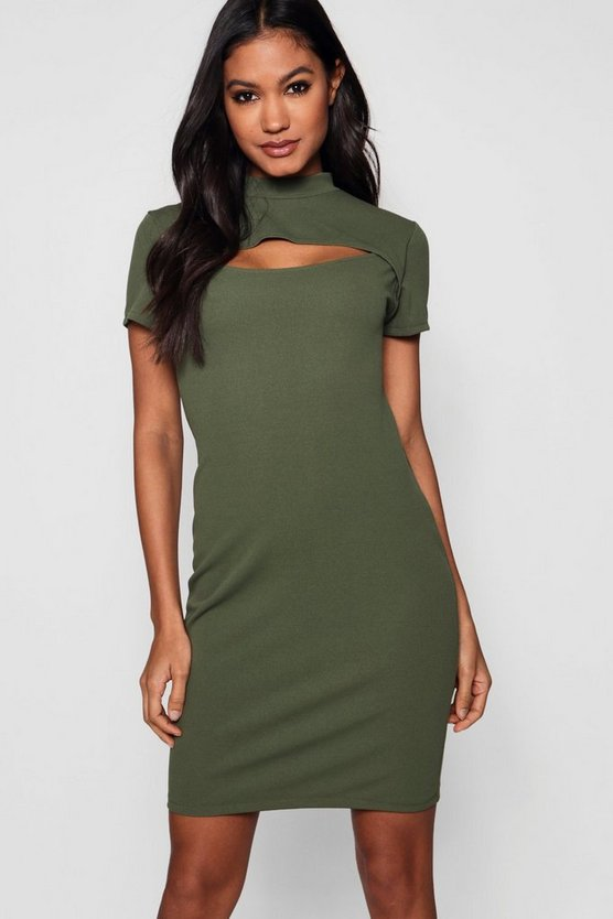 Cut Out Detail Dress