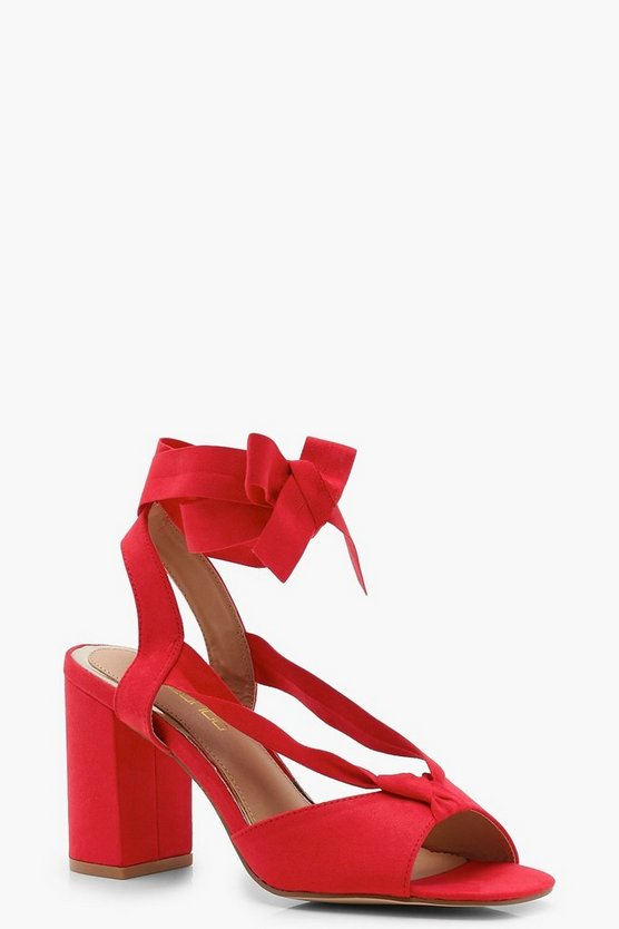 Bella Wide Fit Strap Heels