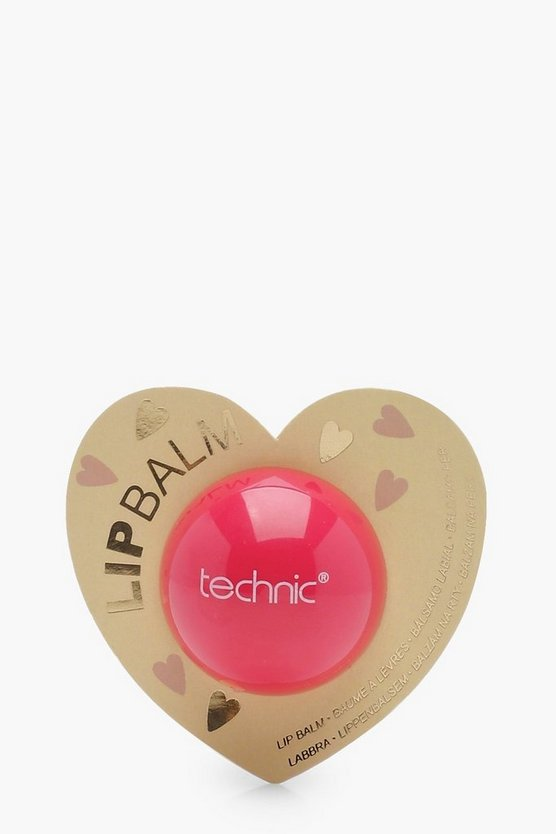 Technic Heart Shaped Ball Lip Balm