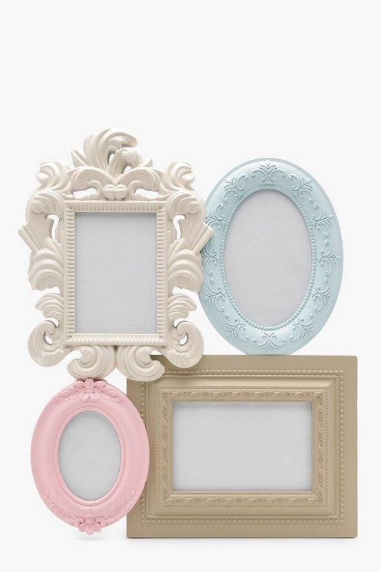 Pastel Vintage Multi Aperture Photo Frame