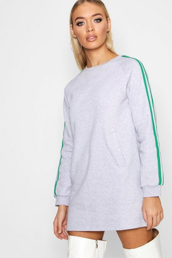 Athleisure Side Stripe Sports Dress