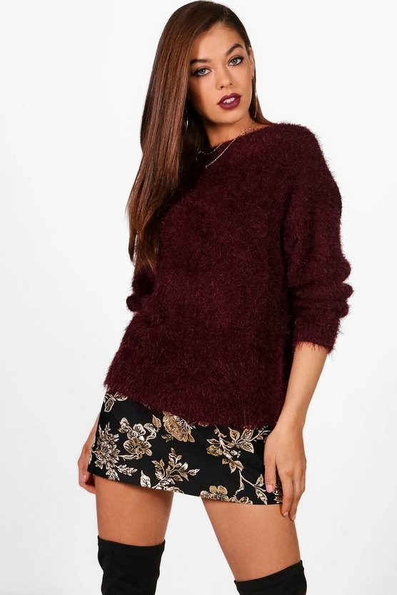 Marlie Fluffy Knitted Jumper