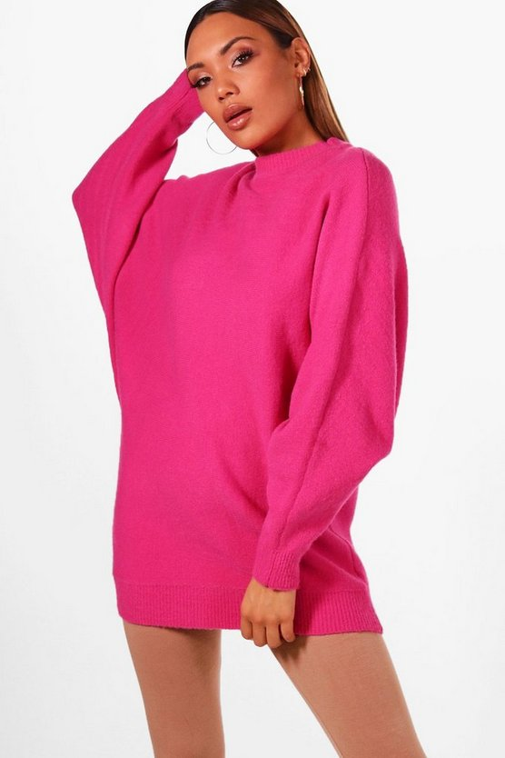 Sian Oversized Batwing Soft Knit Jumper