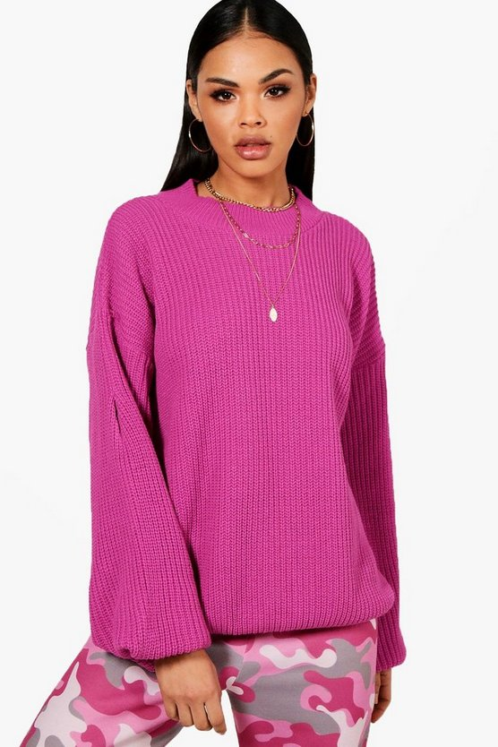 Lola Oversized Balloon Sleeve Jumper