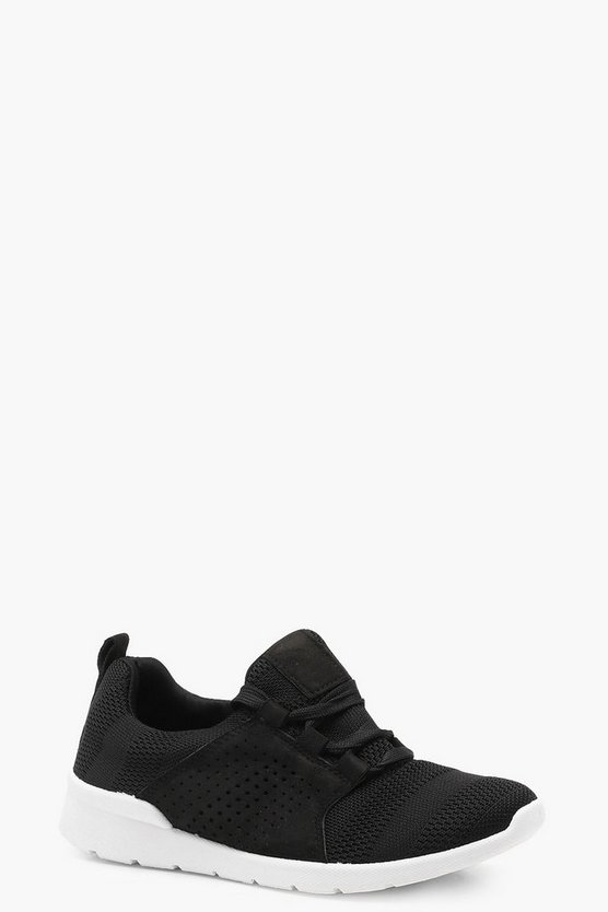 Martha Lace Up Sports Trainer
