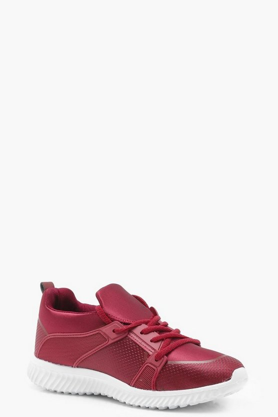 Lacey Lace Up Sports Trainers