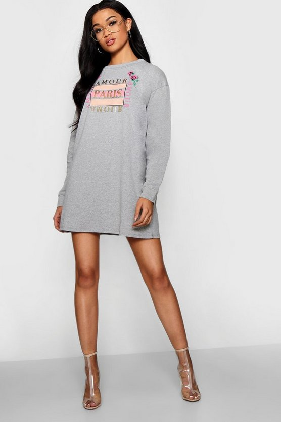 Amour Paris Sweat Dress