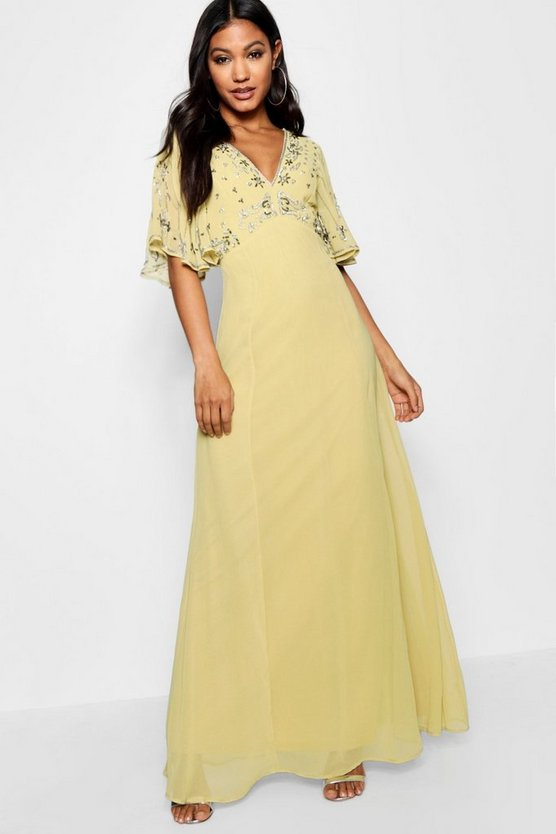 Boutique Eliza Embellished Maxi Dress