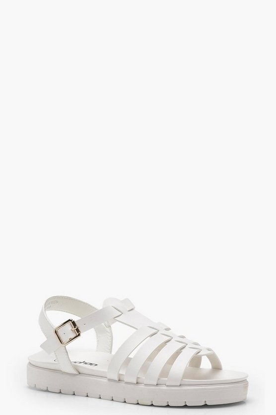 Abigail Fisherman Cleated Flat Sandals