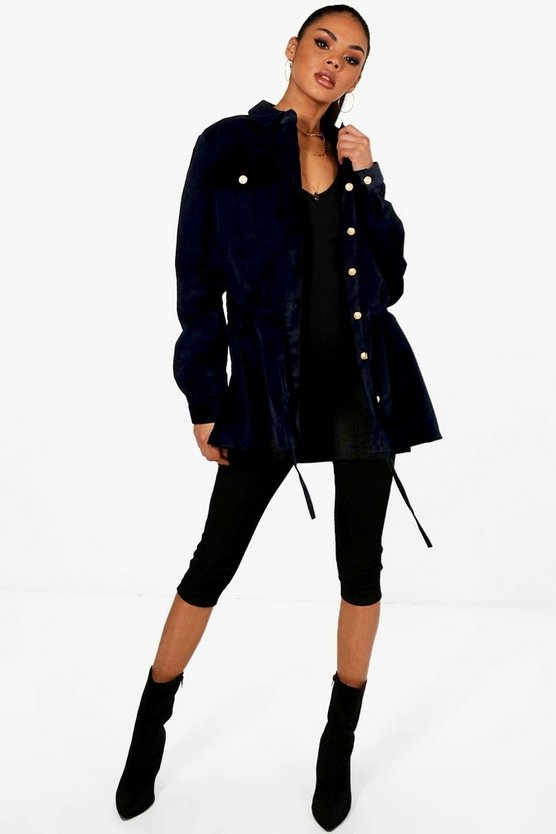 Jan Oversized Cord Jacket