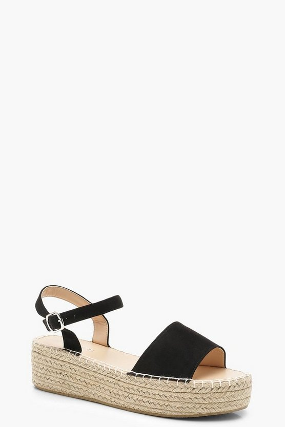 Faith Flatform Espadrille 2 Part Sandals