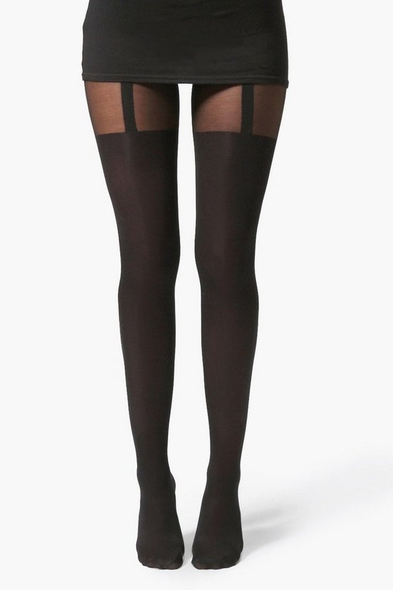 Amelia Mock Suspender Tights