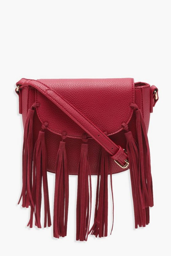 Boho Tassel Cross Body Bag