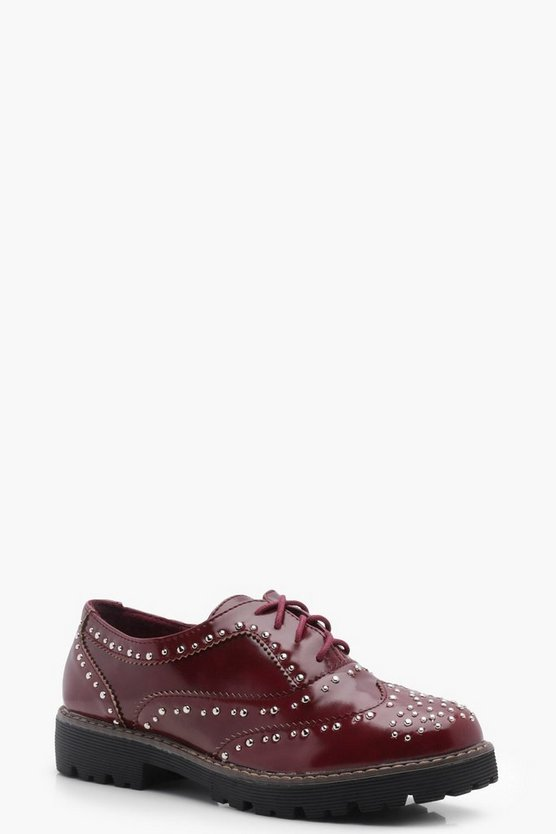 Isla Stud Cleated Brogue
