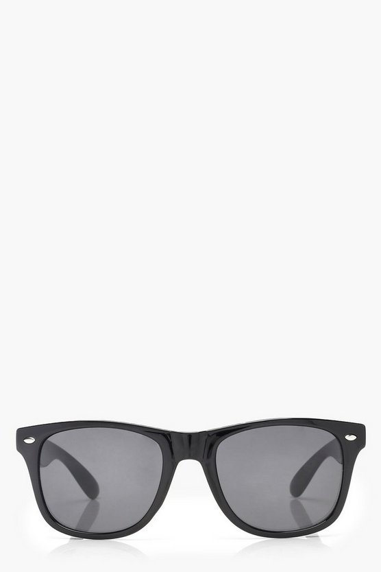 Lily Square Frame Sunglasses by Boohoo