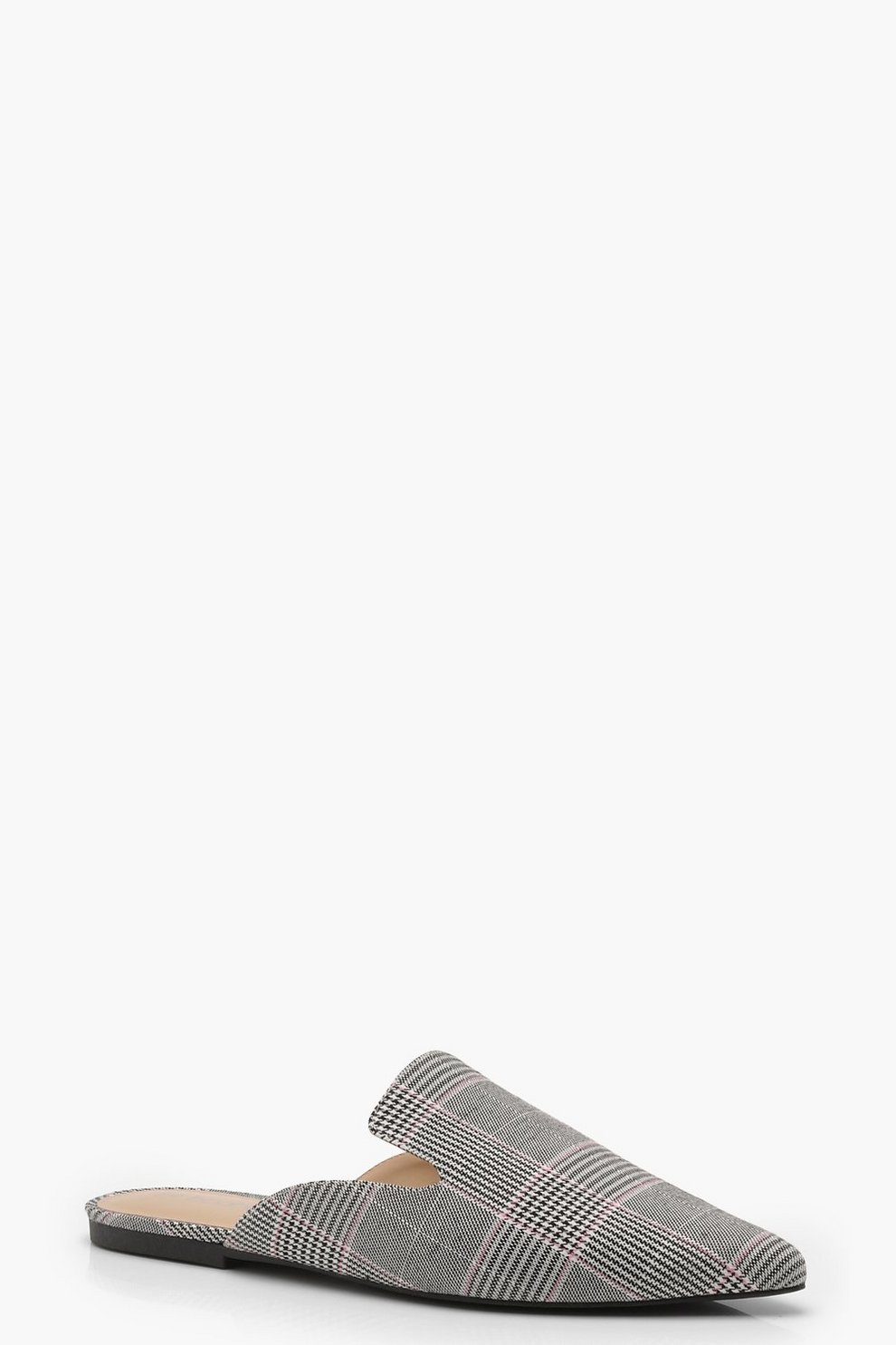 Finishline Barato Real Pointed Check Mules Vendible 3mp7nskb