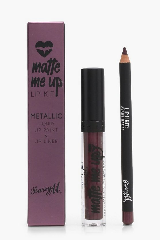 Barry M Metallic Lip Kit - Avant Garde