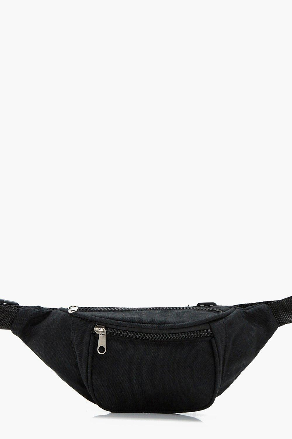 Fabric Bumbag - black - Ava Fabric Bumbag - black