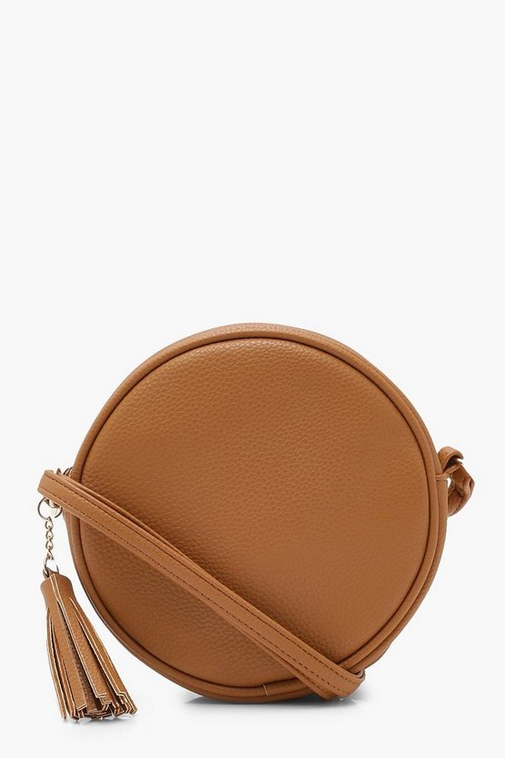 Mia Tassel Round Cross Body