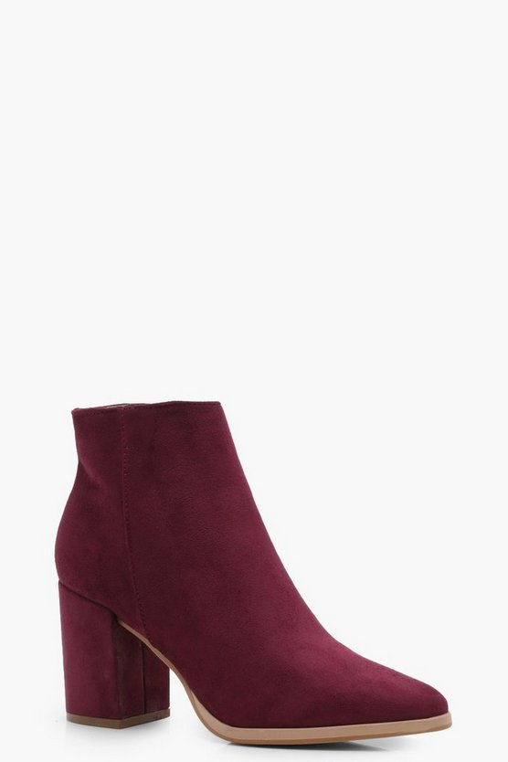 Hannah Pointed Toe Ankle Boot